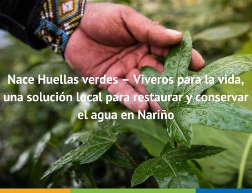 Nace Huellas verdes – Viveros para la vida, una solución local para restaurar y conservar el agua en Nariño