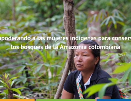 Empoderando a las mujeres indígenas para conservar los bosques de la Amazonía colombiana